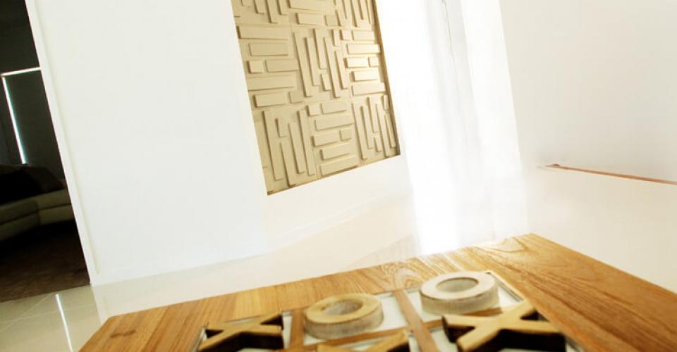 Décoration zen avec les panneaux muraux 3d