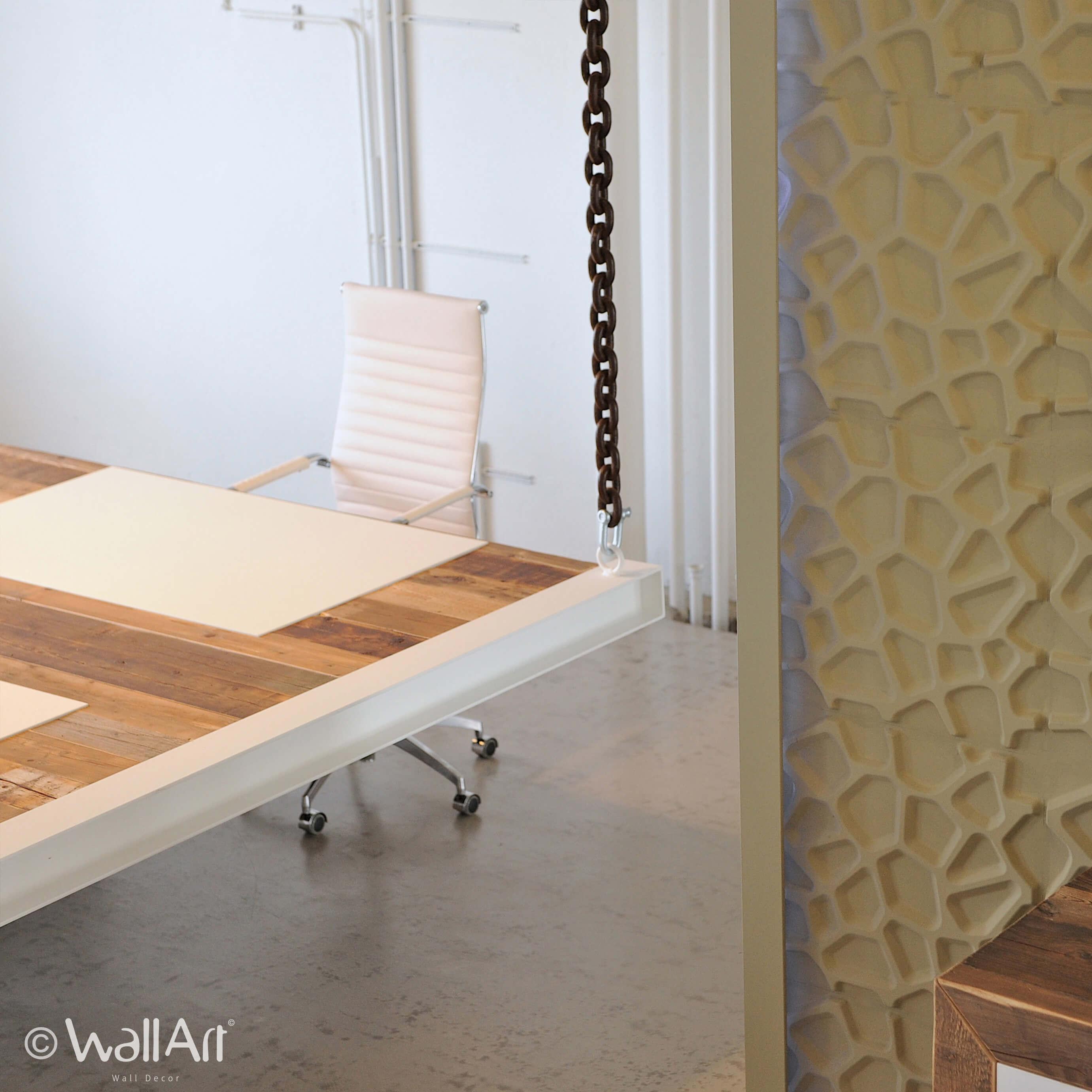 d coration salle de bain panneau mural 3d wallart. Black Bedroom Furniture Sets. Home Design Ideas