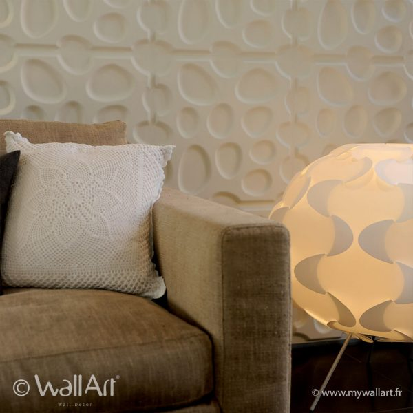 decoration 3d wallart pebbles