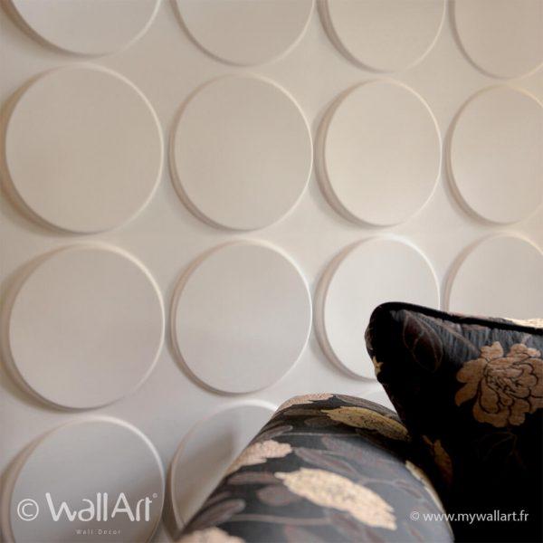 decoration murale ellipses