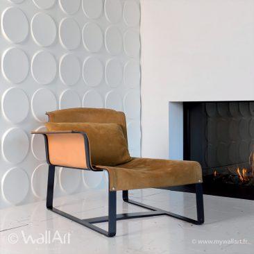 panneau mur3d wallart ellipses