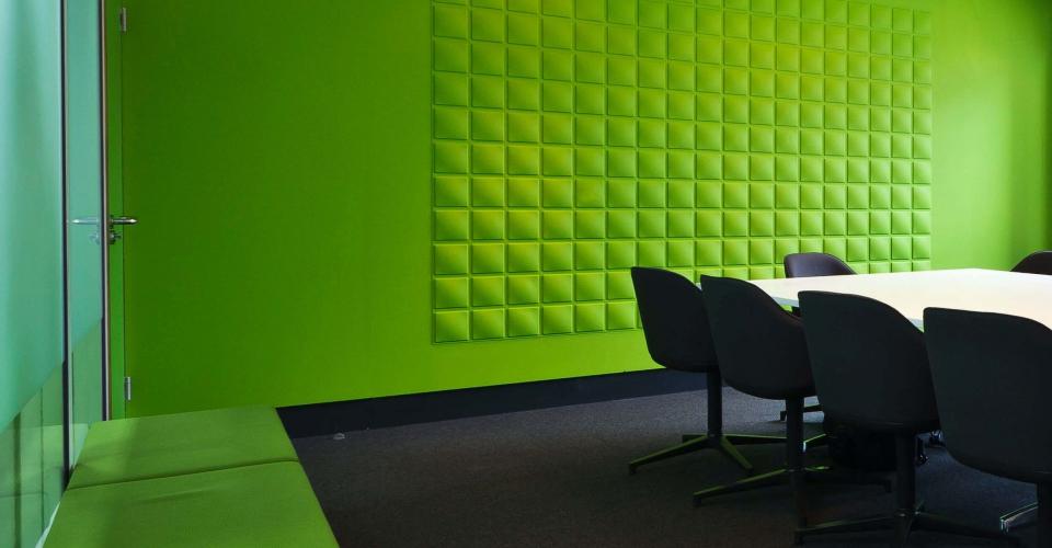 Décoration bureau avec les panneaux muraux 3d