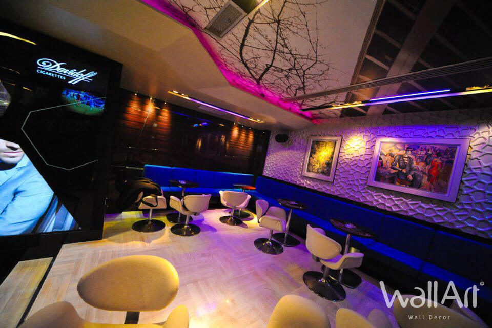 Panneau Mural 3d Bar