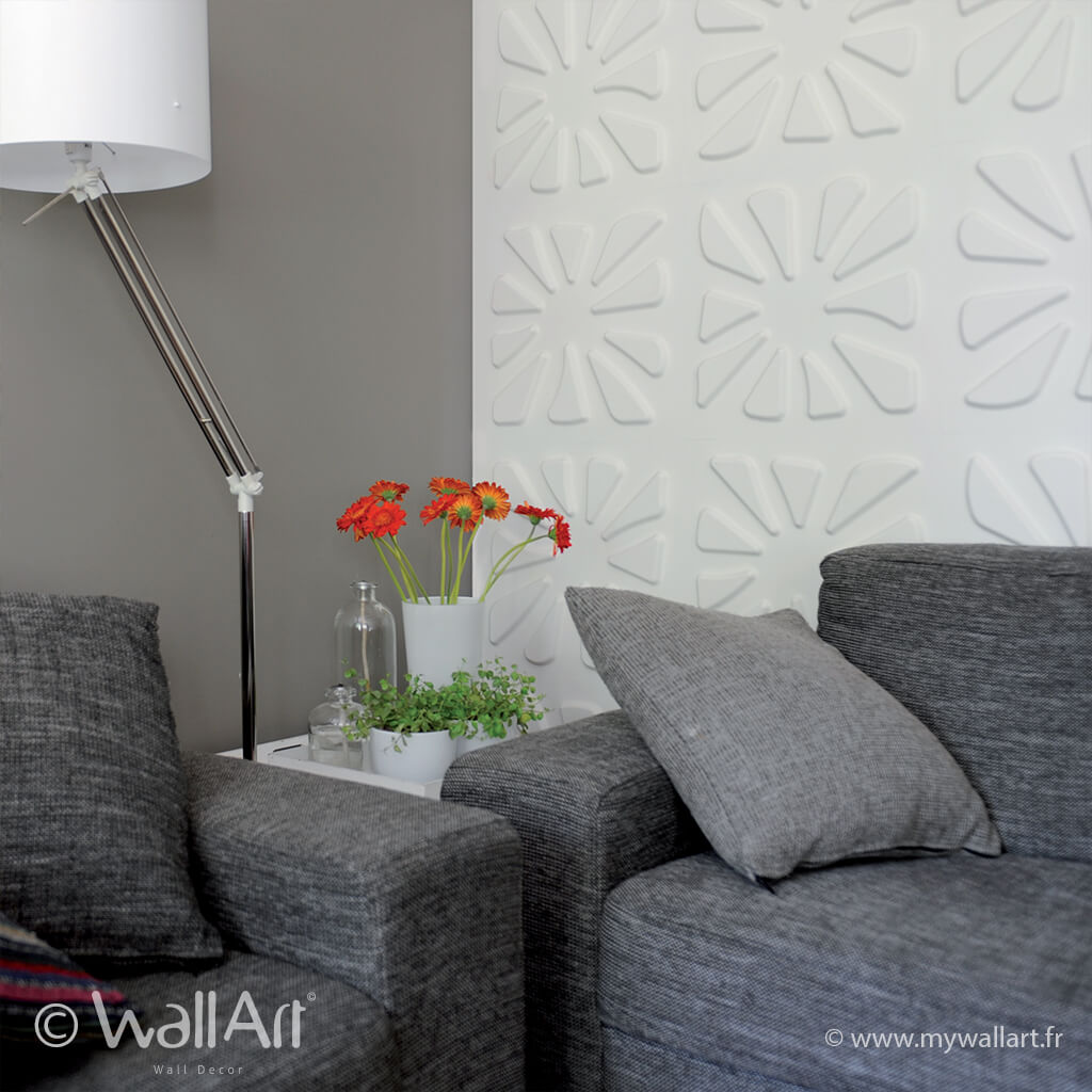 panneau mural 3d caryotas panneau mural 3d wallart panneau d coratif mur 3d wall art. Black Bedroom Furniture Sets. Home Design Ideas
