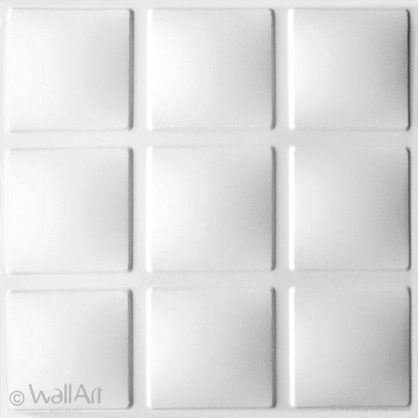 panneau mural cubes