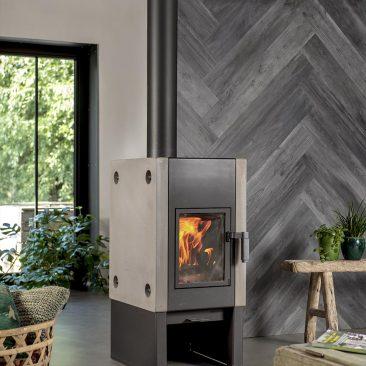 lambris pvc adhésif decoratif imitation bois