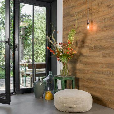 cuisine lambris pvc interieur imitation bois